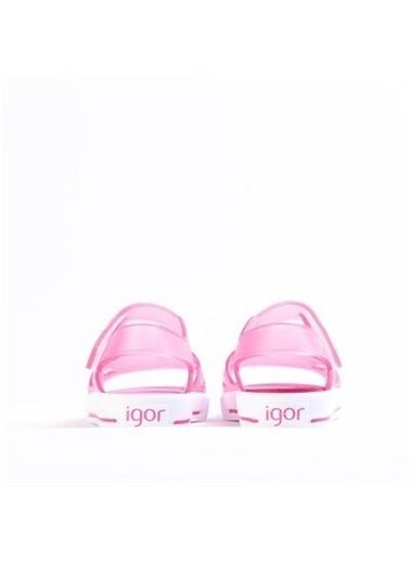 Igor S10231 Malibu Kız Çocuk Sandalet  Fuşya